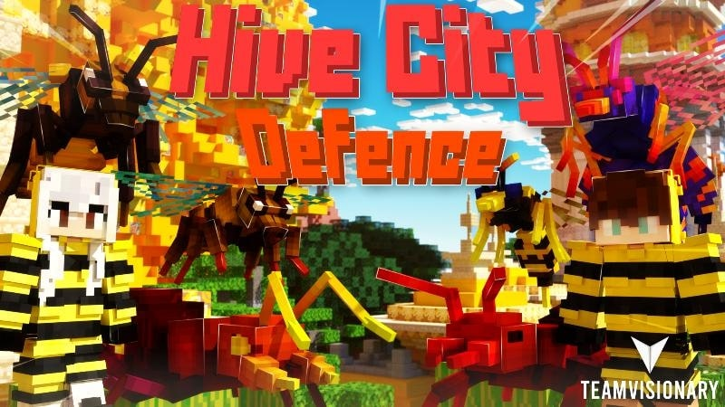 Hive City Defence by Team Visionary & MetaPixels