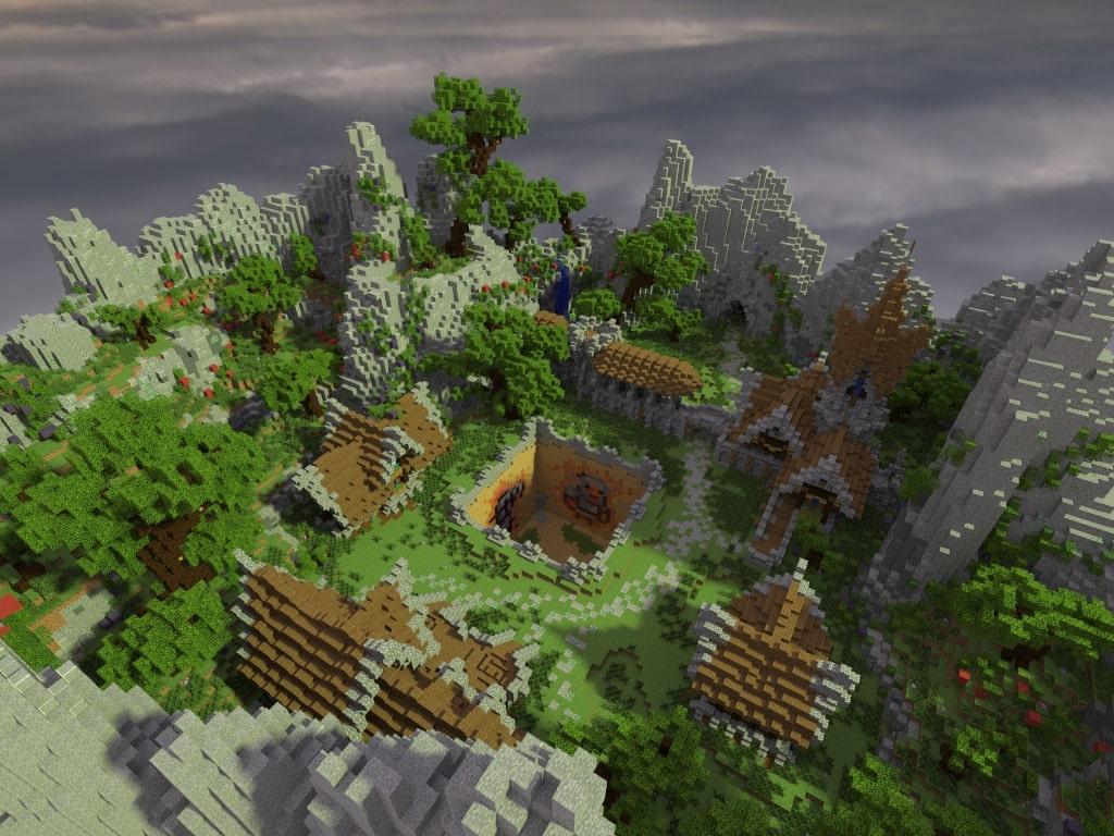 Prison Mine - Village by MrAniman2