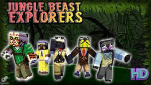 Jungle Beast Explorers Skin Pack