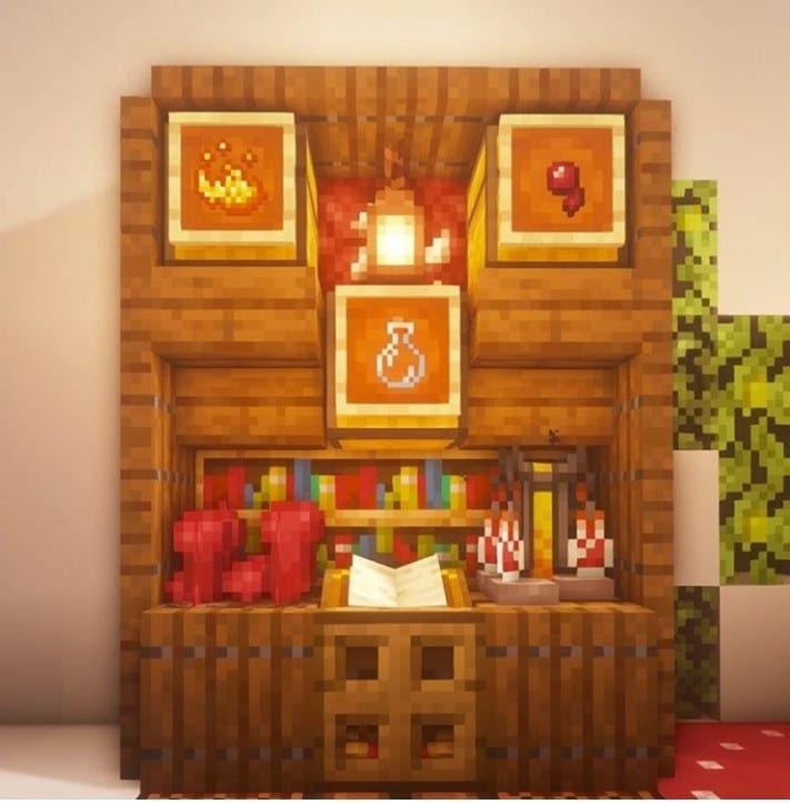 Minecraft Magic Table