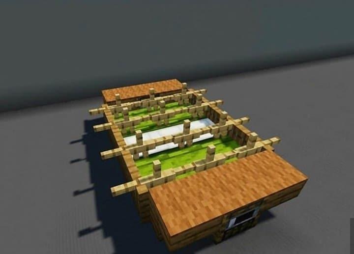 Minecraft Table Soccer
