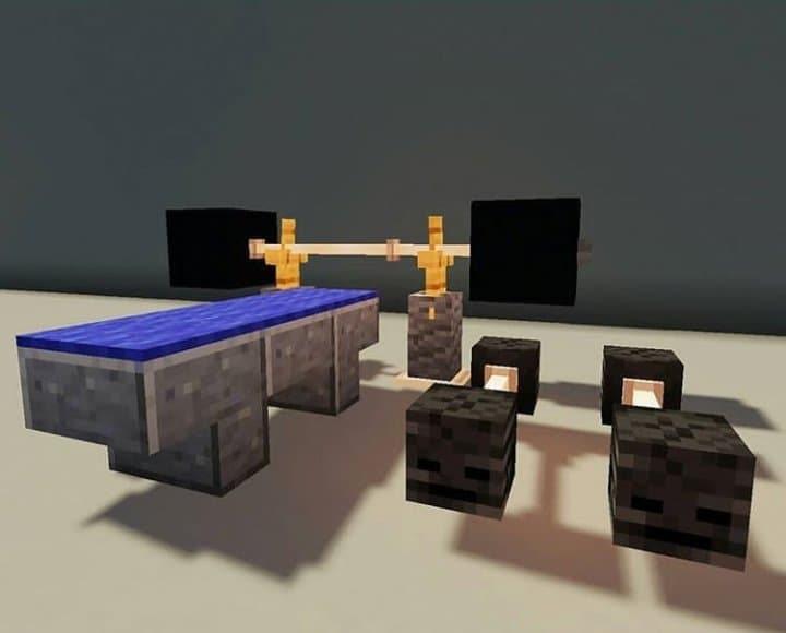 Minecraft Weight Bench