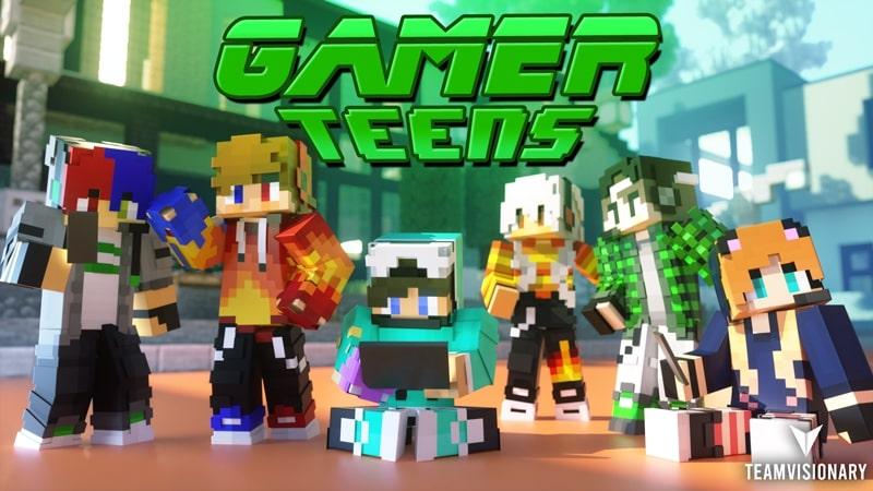 Gamer Teens by Team Visionary
