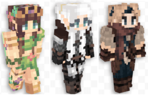 More Minecraft Characters