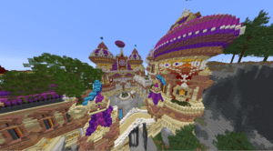 An Example of a Complex Minecraft Build