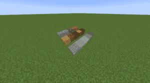 Minecraft Building Block Example