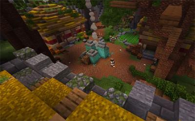 Minecraft Pyramid Adventure Map Example