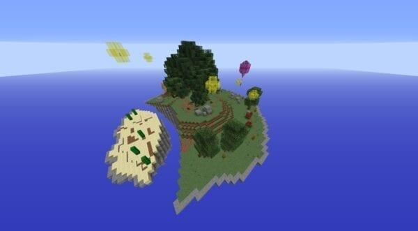 Medieval Skies Skyblock Bundle 45x45 Island