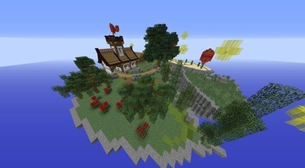 Medieval Skies Skyblock Bundle 55x55 Island