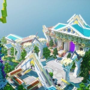 Skyblock Spawn | Team Visionary Build Store